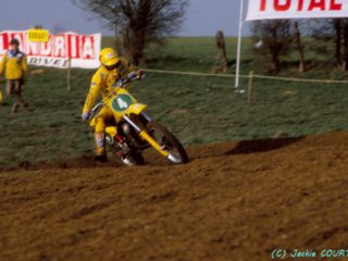 Vromans had the holeshot in the decisive final moto of the year, but took the wrong corner