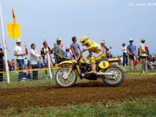 Andre Vromans, runner up in 1982