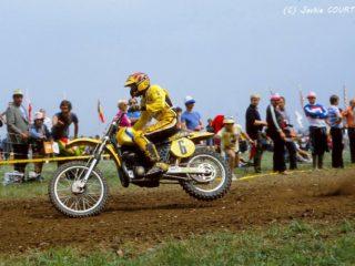 """Bad"" Brad Lackey on the Suzuki"