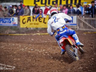 Malherbe won 3 GP's on his factory Honda