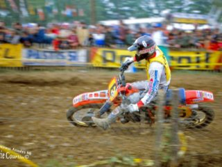Andre Vromans, 4th on the Honda, but never in contention for wins