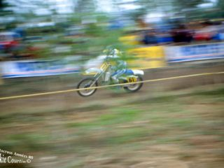 Leif Persson, 9th on the Husqvarna