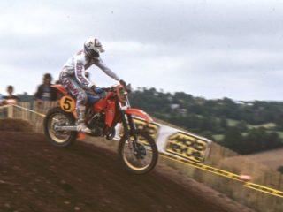 Andre Malherbe, runner up in 1983