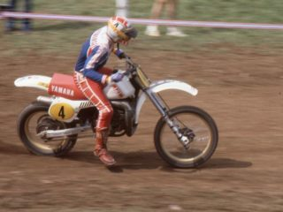 Andre Vromans kept his #4 plate in 1981