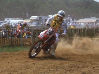 Corrado Maddi on his Cagiva
