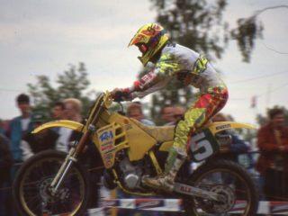 Dave Strijbos won a moto