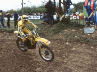 Eric Geboers, vice champion in '81