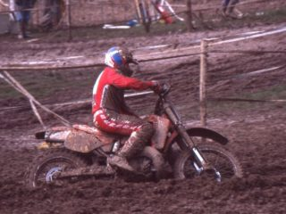 Geboers was the 3rd Honda rider