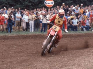 A non score in Belgium with just 2 motos to go proved costly