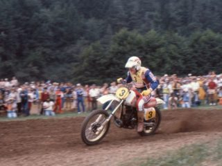 Carlqvist won 5 motos, but could not win at home
