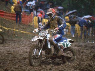 Heinz Kinigadner won the 1984 250cc title