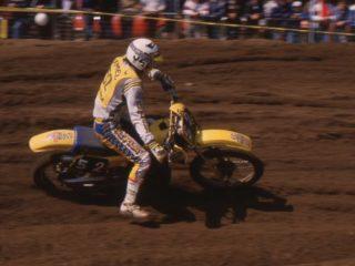 Jeff Nilsson on his Suzuki, 7th overall
