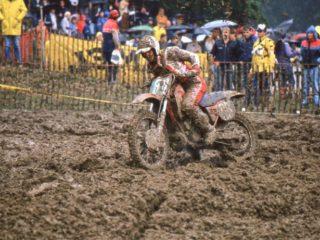 Jorgen Nilsson on the Honda