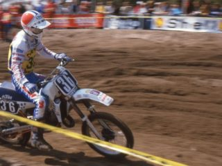 Kees van der Ven started of fast, winning 7 out of the 1st 9 motos