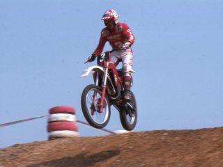 Rinaldi won a GP and 3 motos on his Gilera