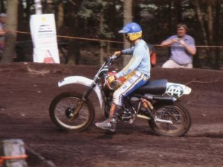 Guerra on the Husqvarna