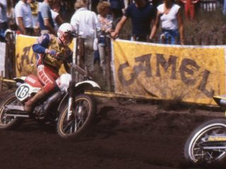 Neil Hudson, the 1981 250cc world champion