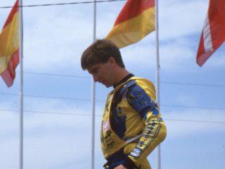 Alain Lejeune won a moto in 1985