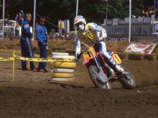 Malherbe won 10 motos, by far the most in '85