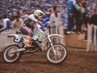 Andrea Bartolini, 4th overall in 1990