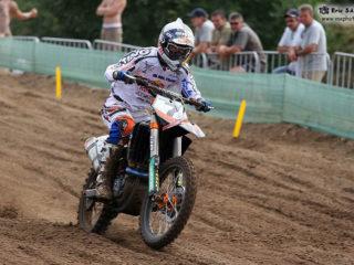 Jonathan Barragan on the KTM