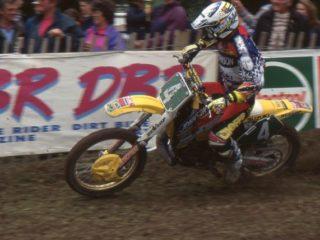 Bervoets won 10 motos on the Suzuki