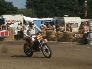 Andre Malherbe won the 1980 500cc title