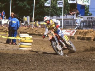 Thorpe had just one moto in which he did not score points