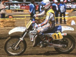Danny Chandler won in France and Rick Johnson in the USA