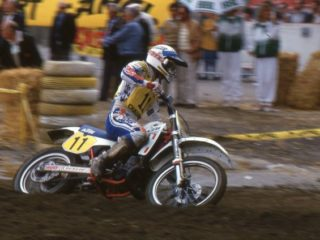 Chandler ended up in 7th on his KTM