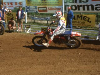 Strijbos had a very smooth riding style, making it all look easy