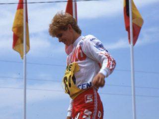 Strijbos won 4 GP's and 8 motos