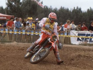 Thorpe could not yet fight for GP victories in '83