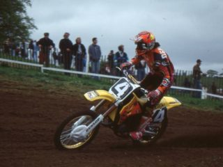 Yves Demaria, vice world champion in 1993