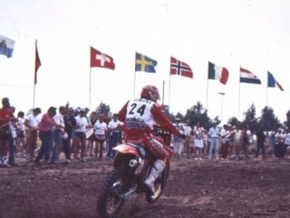 Geboers and his HRC Honda