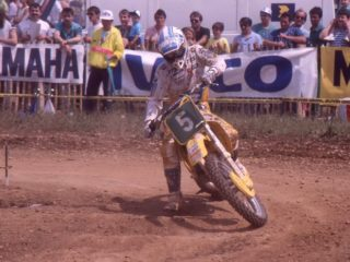 Jeremy Whatley won the first GP of the season, but got injured later