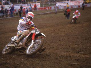 John van den Berk 250cc champ in 1988