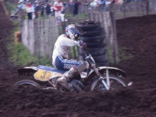 Kees van der Ven on his KTM
