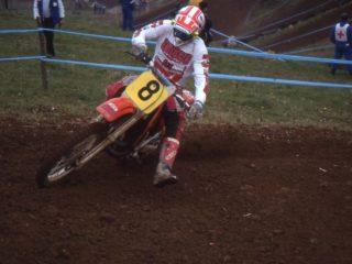 Kurt Ljunqvist, this year on a Honda