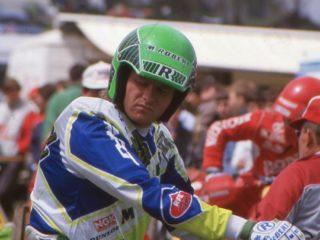 Nicoll and his Kawasaki