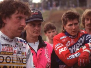 Liles and Martens, 2 of the contenders in 1991