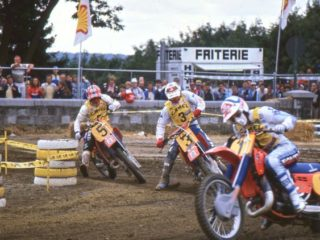 The HRC trio won 10 out of 12 GP's, and 21 out of 24 motos