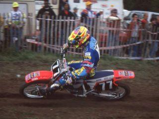 1995 125cc world champion Alex Puzar