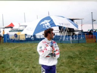 Dave Strijbos, still going strong in 1994, this time 4th overall