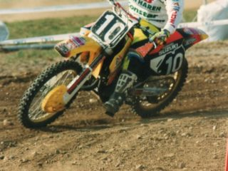 A 2nd in moto 1 at home was the best the former double champ could do