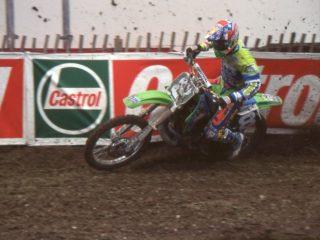 Tallon Vohland on his Kawasaki