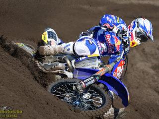 Antonio Cairoli on the Yamaha