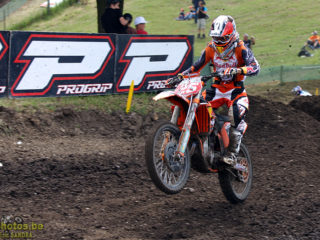 Marvin Musquin on the KTM
