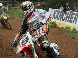 Ken de Dycker on his Honda in 2007