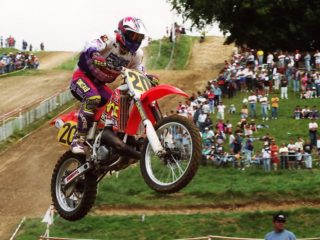 Dirk Geukens, 14th on the Honda
